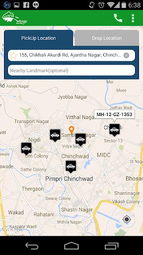 Wings Cabs - Radio Taxi Pune screenshot 1