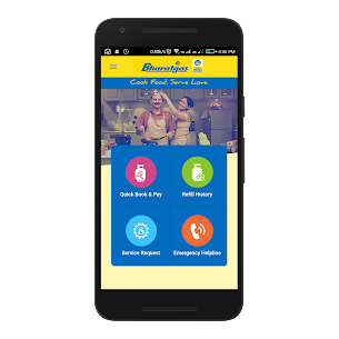 Download Bharatgas Login app for Android 1