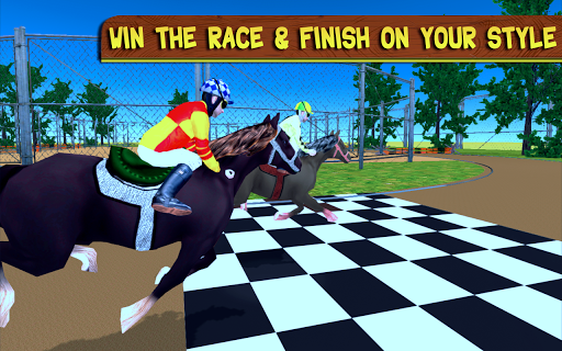 Racing Horse Championship 3D 2.2 Screenshots 1