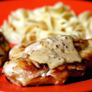 Chicken with Mustard Sauce