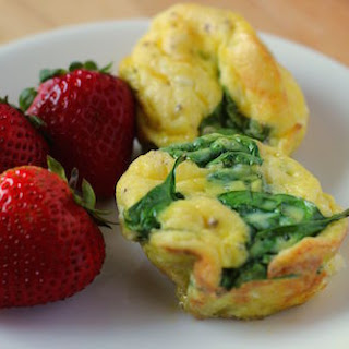 Spinach Goat Cheese Egg Bake Recipes.