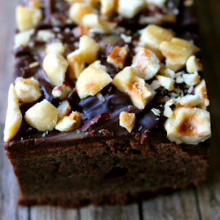 Gooey Triple Chocolate { Espresso } Brownies