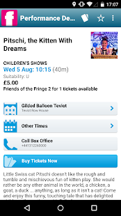 Edinburgh Festival Fringe- screenshot thumbnail
