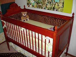 Photo: Baby Bed - Cherry