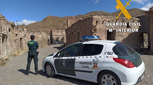 Frustran una 'rave' en los decorados de 'Exodus' y 'Juego de Tronos' en Almería