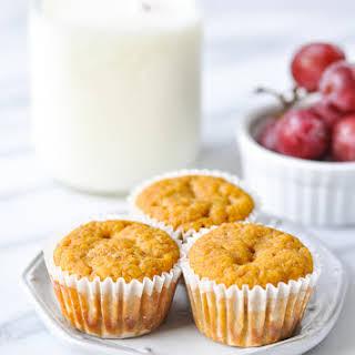 Applesauce Pumpkin Muffins.