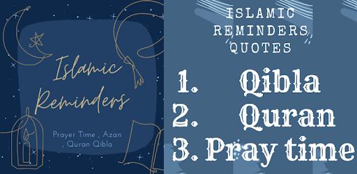 Muslim Reminder - Prayer Times, Quran & Qibla. APK 0