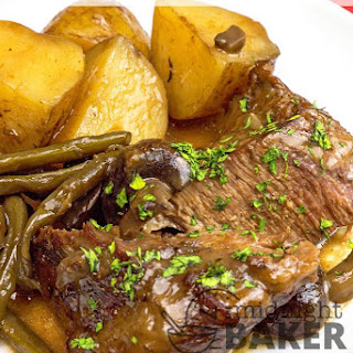 Slow Cooker Complete Pot Roast Dinner
