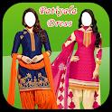 Women Patiyala Dress Photo Suit New icon