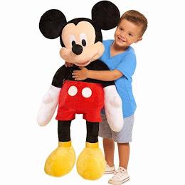 Mascota Gigant Mickey Mouse - 100 cm, figurina uriasa din plus