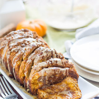 Pumpkin Maple Pull Apart Bread