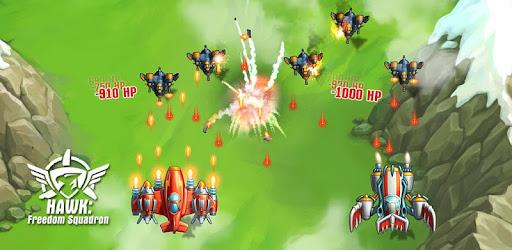 Hawk Juego De Aviones Shooter De Naves Arcade Apps En Google Play