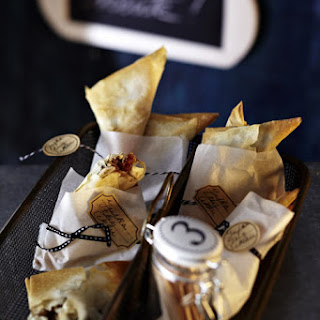 Fig and Feta Phyllo Parcels.
