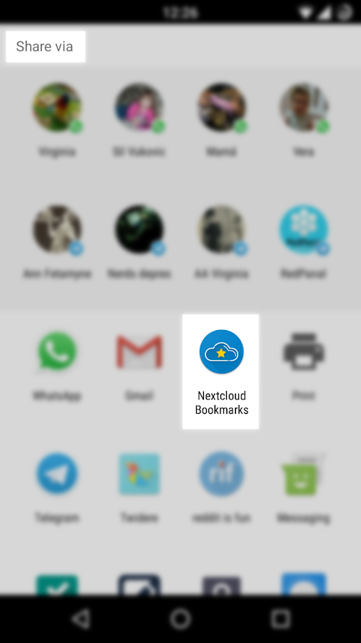 how to add bookmarks on google app