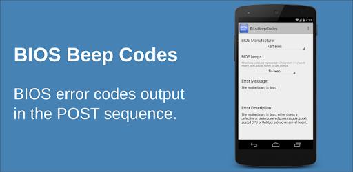 BIOS Beep computer error codes - Apps on Google Play