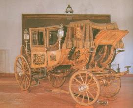 Photo: Carruagem de gala do Imperador D. Pedro II, chamada de Monte de Prata. Pertence ao acervo do Museu Imperial de Petrópolis