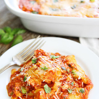 4-Ingredient Ravioli Lasagna.