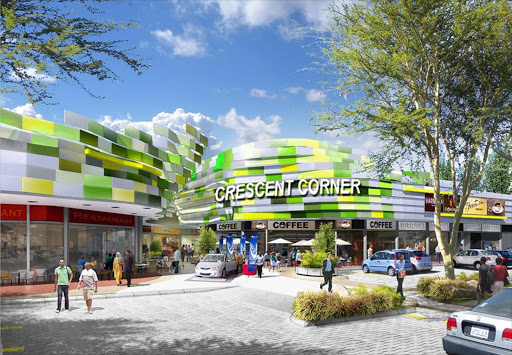 An artist's impression of the Rainbow Junction development.
