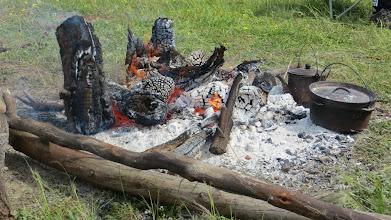 Photo: The camp kitchen