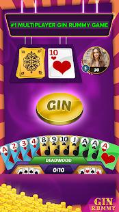 Gin Rummy Multiplayer - náhled