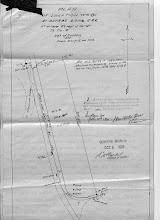 Photo: Survey map of Munro Siding circa 1920 (MNR)