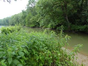 Photo: confluent de l'Ourcq et de la Marne