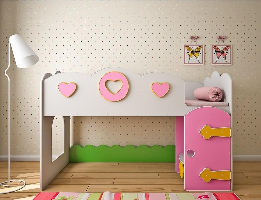 Оформление детской кровати чердака своими руками
