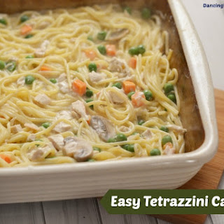 Tetrazzini Casserole With Leftover Turkey Or Chicken.