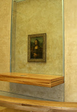 Photo: Mona Lisa at the Louvre