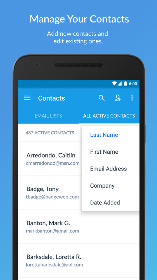 Constant Contact - Email Mktg- screenshot