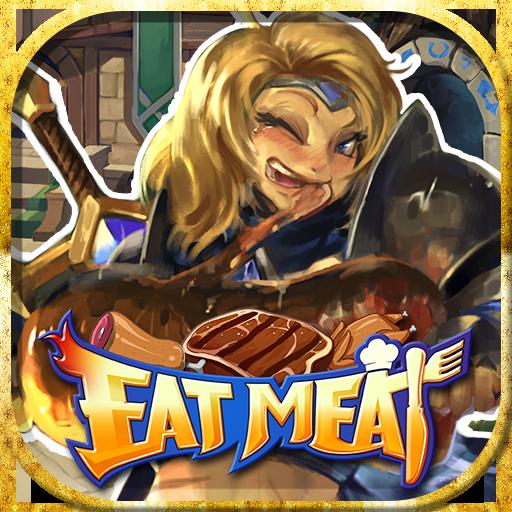 動作App|EAT MEAT LOGO-3C達人阿輝的APP