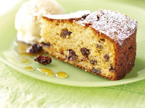 Mom's Raisin Pudding Cake Recipe