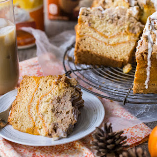 Pumpkin Spice Coffee Cake