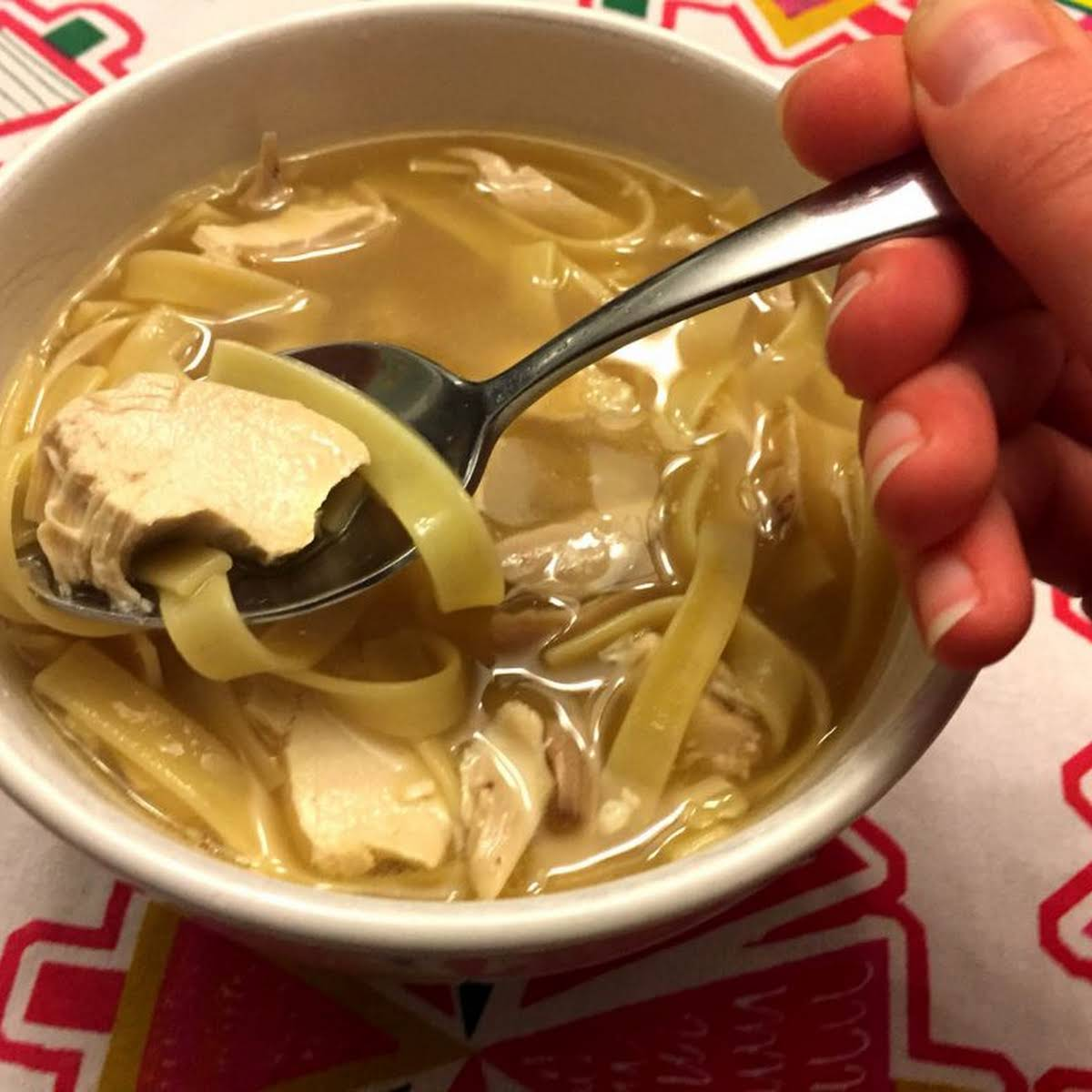 Easy 15-Minute Chicken Noodle Soup