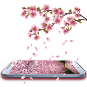 App Romantic Sakura Live Wallpaper APK for Windows Phone