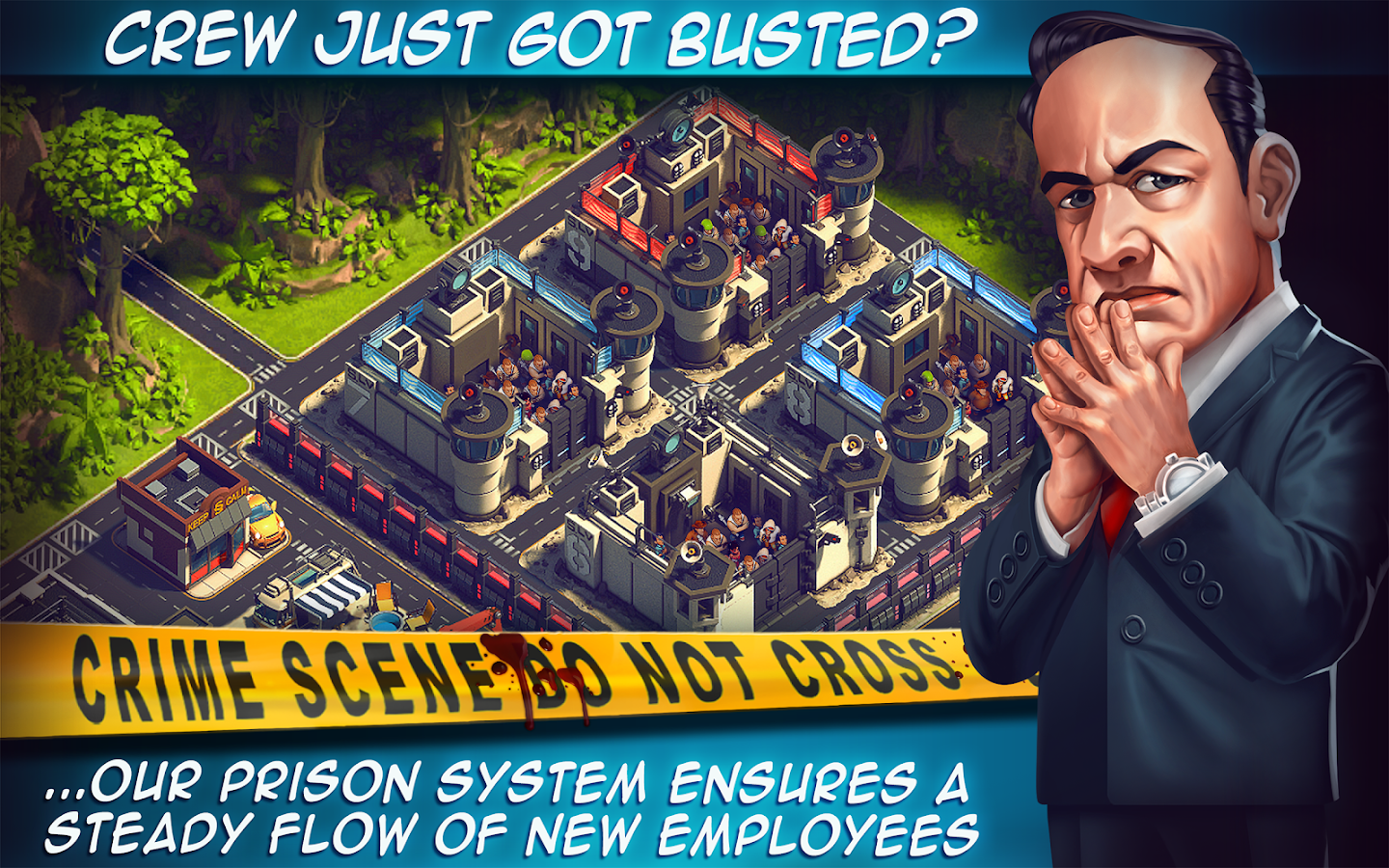 Crime Coast HD: Mob vs Mafia- screenshot