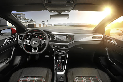 Tartan trim pays homage to the original Golf GTi and combines well with some of the best tech in the segment.  Picture: VOLKSWAGEN
