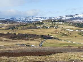 Photo: Braenaloin and Upper Glen Gairn from Geallaig