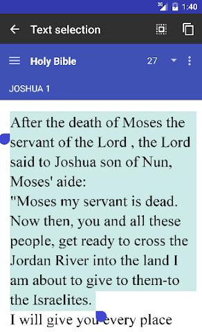 Screenshots for Holy Bible