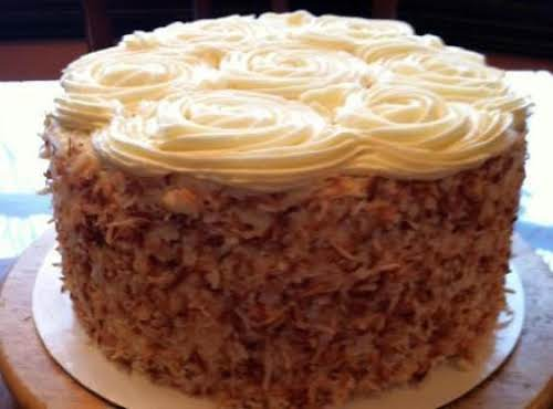 """Grandma Cookie's Carrot Cake """"Thanks for the recipe, my family absolutely begs..."""