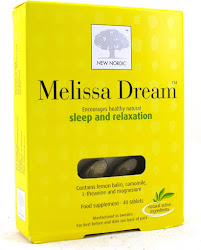 New Nordic Melissa Dream Sleep and Relaxation Food Supplement - 40 Tablets