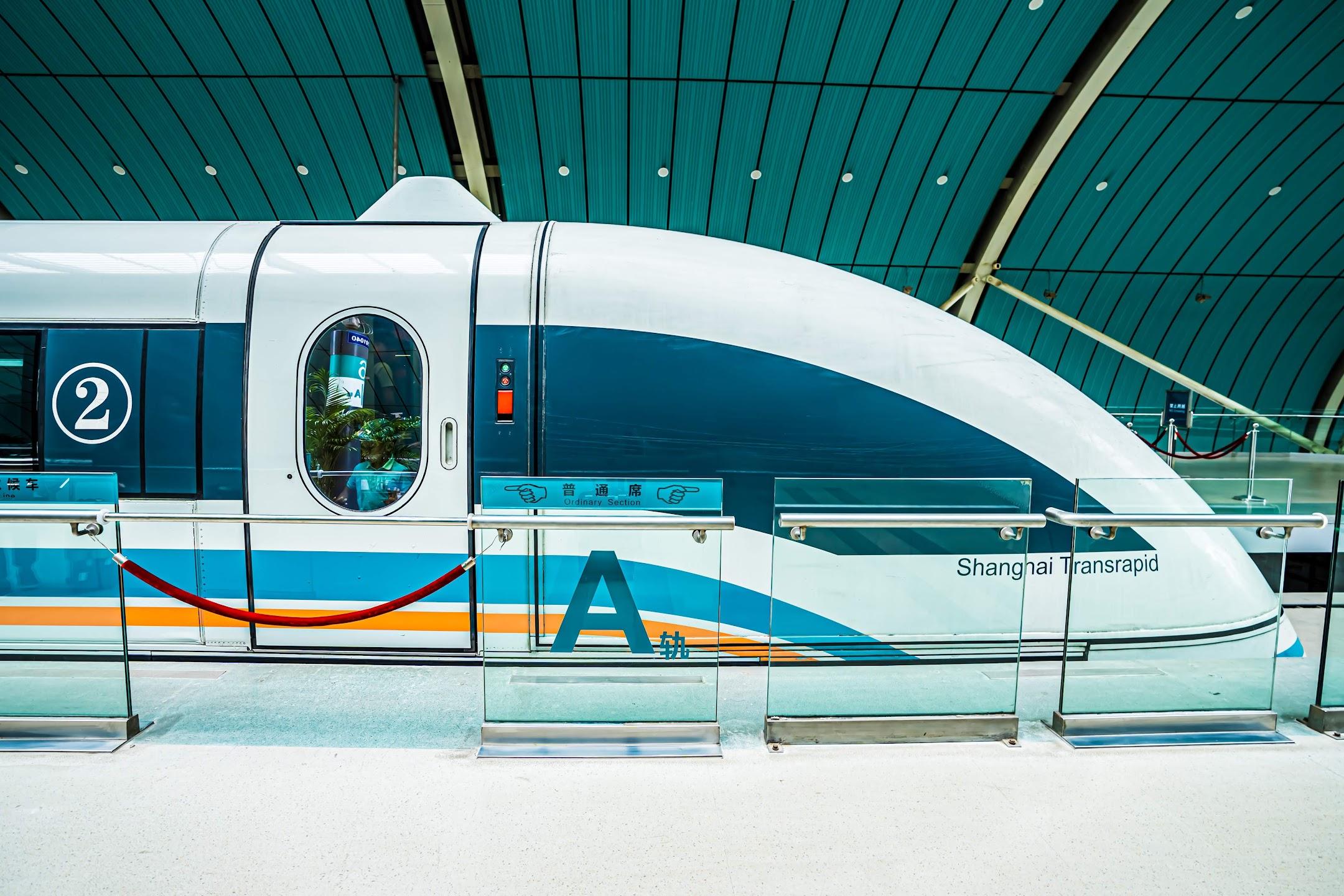 Shanghai Maglev train1
