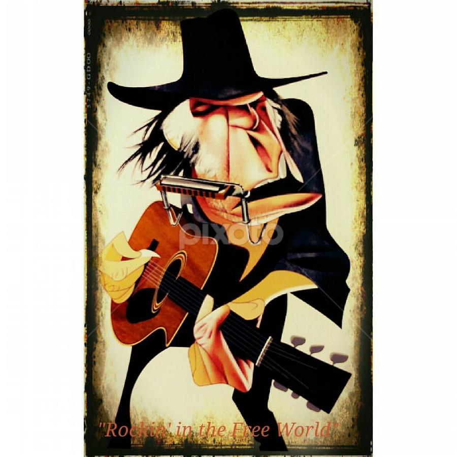 Neil Young - André Carrilho #bqaquaris #pixlr