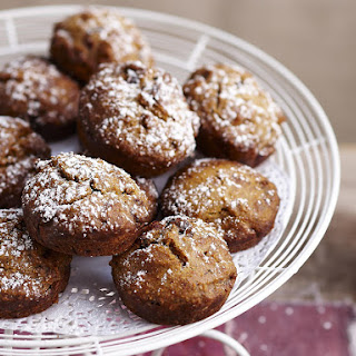 Whole Wheat Caramel Date Muffins