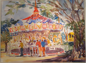 Photo: Painting at Old School Square by Bob Barfknectt