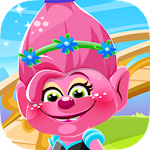 Dress up trolls poppy and friends games