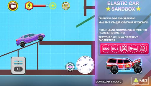 ELASTIC CAR SANDBOX  APK MOD (Astuce) screenshots 1