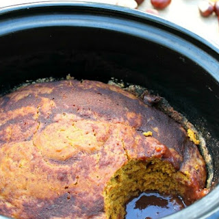 Slow Cooker Pumpkin Spice Pudding Cake Recipe