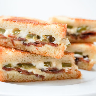 Jalapeno Popper Grilled Cheese with Bacon
