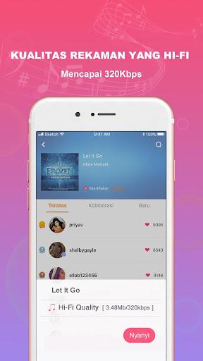 Suaraku: Nyanyikan Berbagai Lagu Karaoke Gratis 3.4.7 Screenshots 4